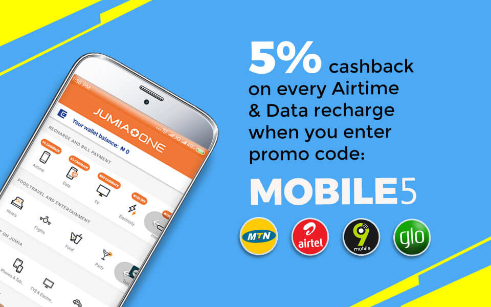 Airtime, Utility Bills, Shopping - All your daily needs in